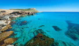 Greko de cap, zone de napa d'ayia, Chypre. Images stock