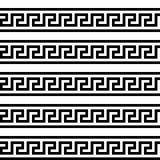 Grektangent Typisk egyptier-, assyrian- och grekbevekelsegrundtextur Vektor och illustration vektor illustrationer