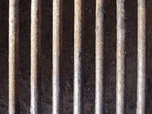 Grelha do metal Foto de Stock