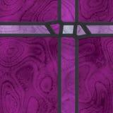 Grelha do metal do vidro manchado do sumário Imagens de Stock Royalty Free