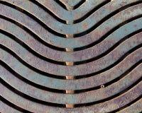Grelha resistida, oxidada Fotografia de Stock