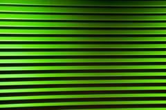 Grelhas verdes anodizadas Foto de Stock