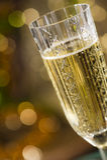Greller Champagner Stockfotos