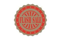 Greller Verkaufsstempel auf Papier Lizenzfreie Stockfotos