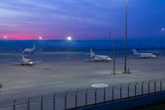 Grembiule dell'aeroporto Immagine Stock