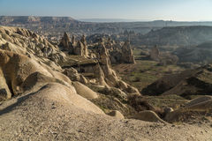 Göreme view with valley Royalty Free Stock Photo