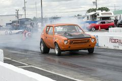 Gremlin burnout Stock Photography