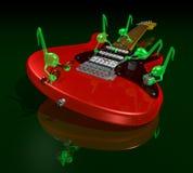 Gremlins musicales ilustración del vector