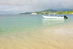 Grenada. Grand Anse Bay in Grenada Royalty Free Stock Image