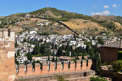Grenada, Alhambra, Spain Royalty Free Stock Image