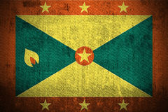 Grenada bandery crunch Obraz Royalty Free