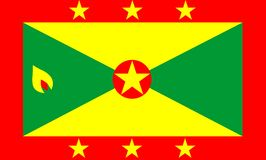 Grenada Flag Stock Image