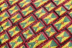 Grenada Flag Urban Grunge Pattern Stock Images