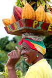 Grenada-Frau. stockbild