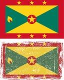 Grenada grunge flag. Vector illustration Royalty Free Stock Photo
