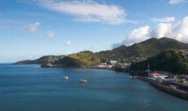 Grenada island - Saint George`s bay Stock Photography