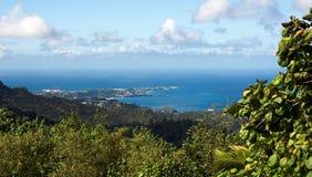 Grenada island - Saint George`s - Harbor and Devils bay Royalty Free Stock Photos