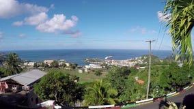 Grenada landskap stock video