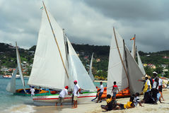 Grenada Sailing Festival Royalty Free Stock Photography