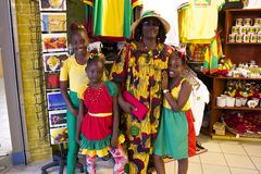 Grenada självständighetsdagen som är karibisk Fotografering för Bildbyråer
