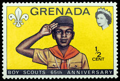 Grenada stamp Royalty Free Stock Photo