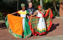 Grenada traditionella dansare Royaltyfria Foton