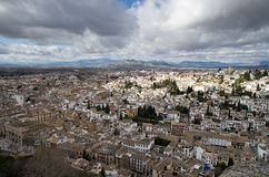 Grenada - the view from the Alhambra Stock Photo