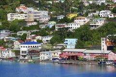 Grenada widok - St George miasteczko Obraz Stock
