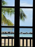Grenada through the window Royalty Free Stock Photography