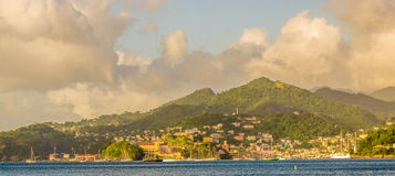 Grenadan Coastline St. George Stock Photo