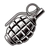 Grenade royalty free illustration