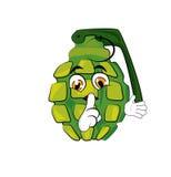 Grenade cartoon Royalty Free Stock Photos