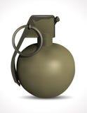 Grenade - explosive puissante Photos stock