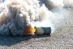 Grenade fumigène de M8 HC Photos libres de droits