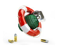 Grenade help Stock Photo
