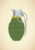 Grenade icon Stock Photography