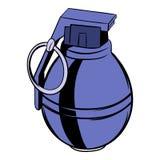 Grenade icon cartoon vector illustration