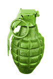 Grenade Isolated Stock Photography
