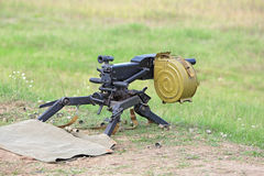 Grenade launcher Royalty Free Stock Images
