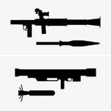 Grenade launchers Stock Image