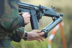 Grenade launchers Hk-79 Royalty Free Stock Photo