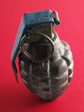 Grenade Red stock photo