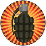 Grenade Vector Artwork Stock Images