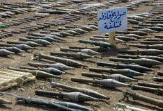 Grenades à fusée propulsée Image libre de droits