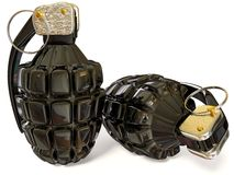 Grenades Royalty Free Stock Photography