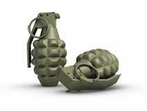 Grenades Royalty Free Stock Photos