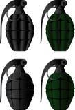 Grenades royalty free illustration