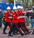 Grenadier Guards in London Stockfoto