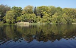 Grenadier-Teich Stockbild
