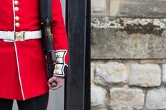 Grenadiera Strażowy wierza Londyn Zdjęcia Stock